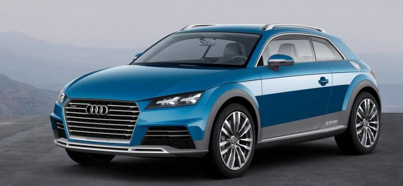 Audi показала свой первый 408-сильный компактный кроссовер. Фото