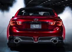 Infiniti Q50 Eau Rouge наполненный формульным духом. Фото