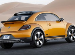 Volkswagen Beetle Dune — жука превратили в кроссовер. Фото